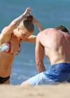 Ireland Baldwin - Wear Thomg Bikini in Maui-15