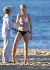 Ireland Baldwin - Wear Thomg Bikini in Maui-21