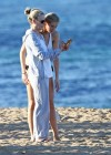 Ireland Baldwin - Wear Thomg Bikini in Maui-28