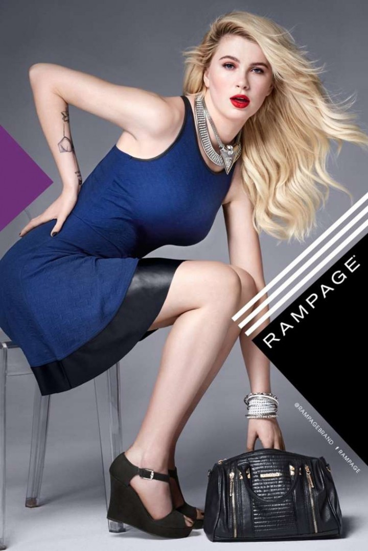 Ireland Baldwin - Rampage 2014 Fall/Winter Campaign