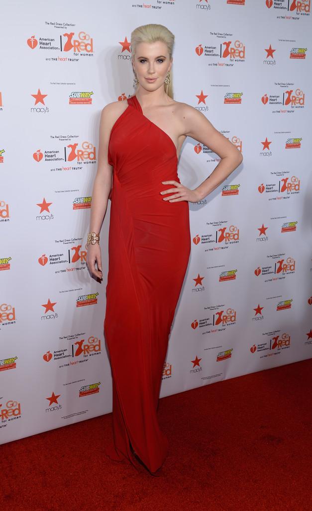 Ireland Baldwin: 2014 Red Dress Fashion Show -03