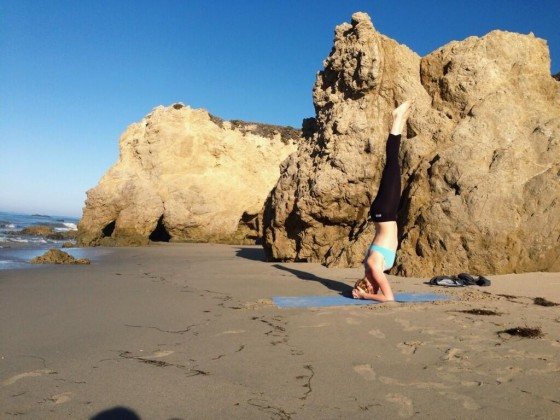 Ireland Baldwin Bikini: Working Out at the Beach -05