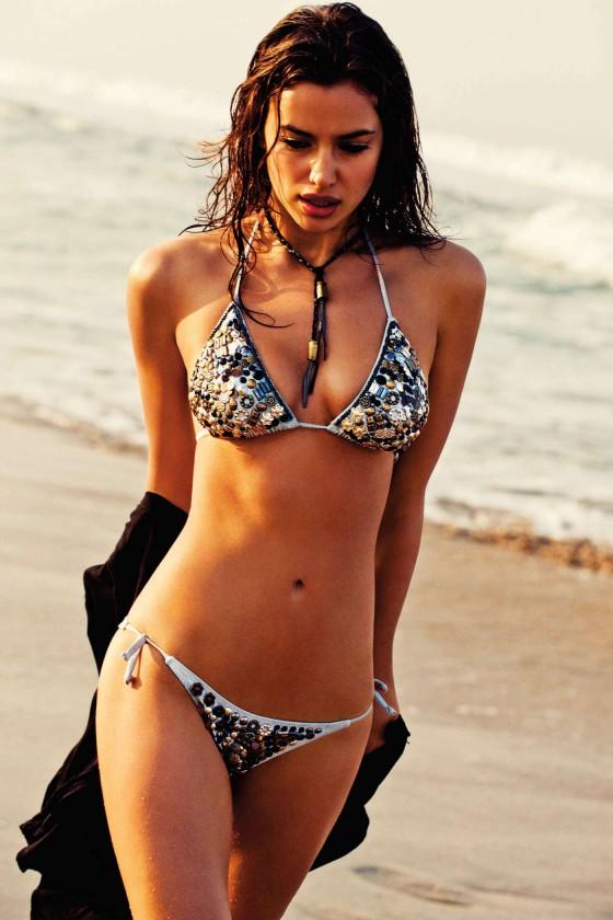 Irina Shayk - Agua Bendita Bikini Photoshoot 2013