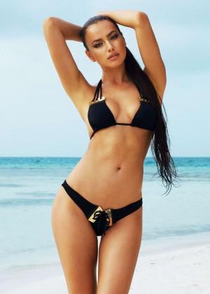 Irina Shayk: Beach Bunny Bikini -05