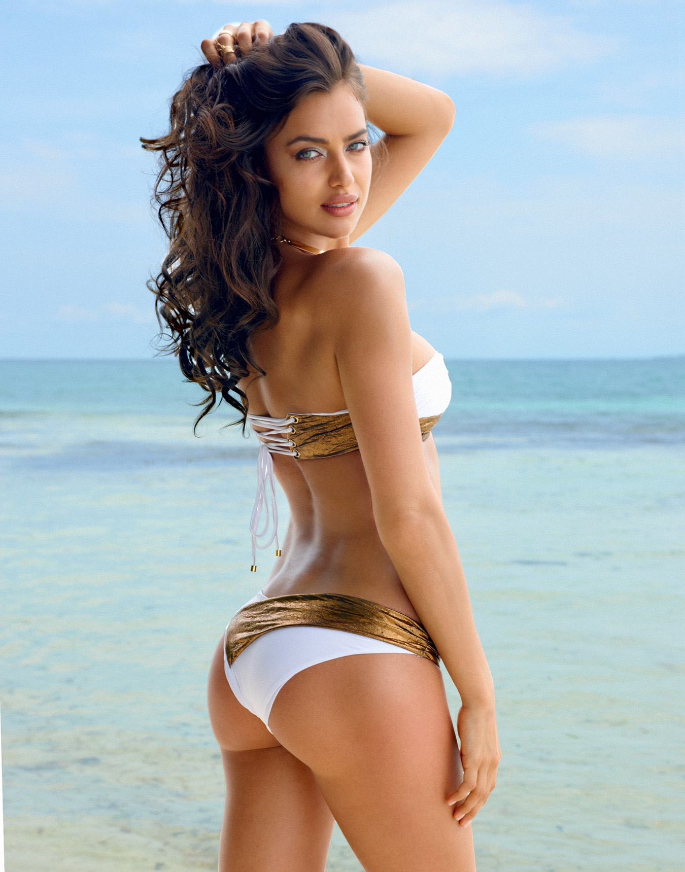 irina shayk photos  beach bunny 2014 04
