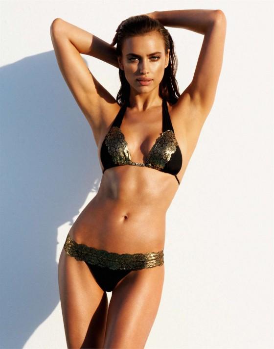 Irina Shayk – Beach Bunny Swimwear 2013 -01