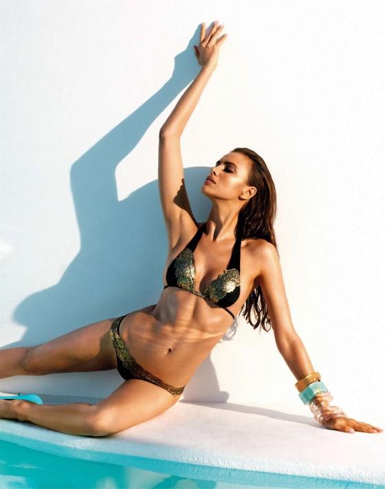 Irina Shayk – Beach Bunny Swimwear 2013 -06
