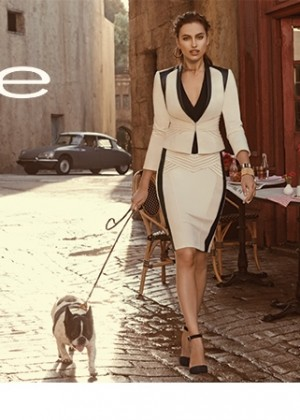 Irina Shayk; Bebe With Love from Paris 2014 Collection -02