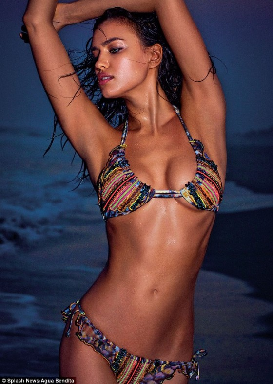 Irina Shayk bikini photoshoot for Colombian swimwear company