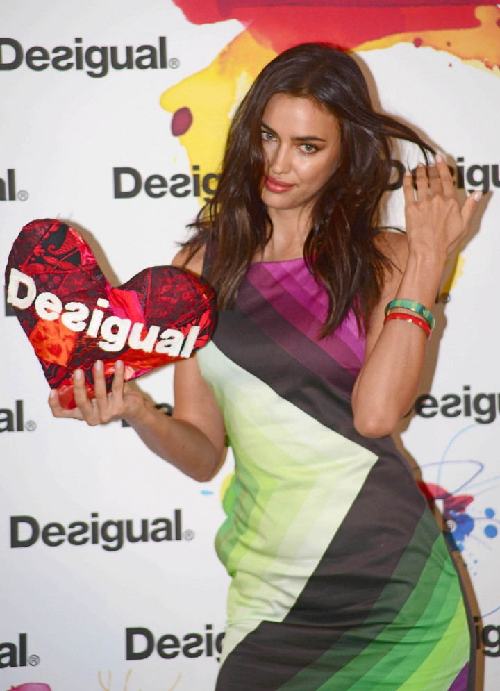 "Irina Shayk – ""Desigual"" 2014 Collection Launch in Barcelona"