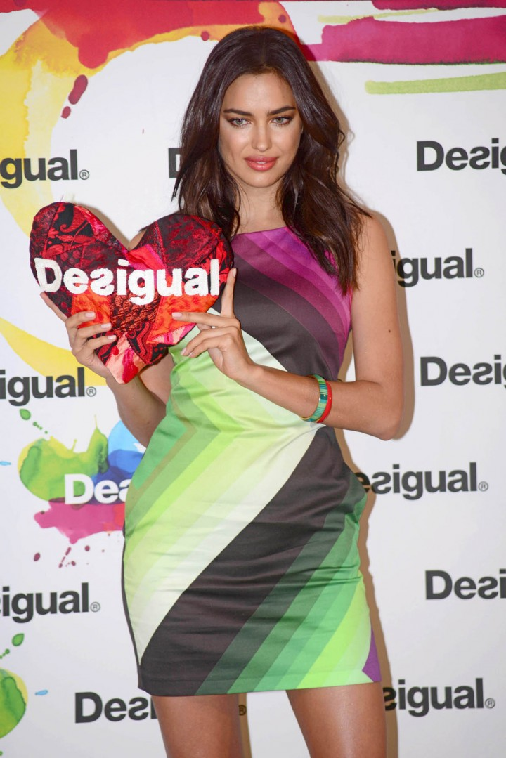 Irina Shayk: Desigual 2014 Collection Launch -13