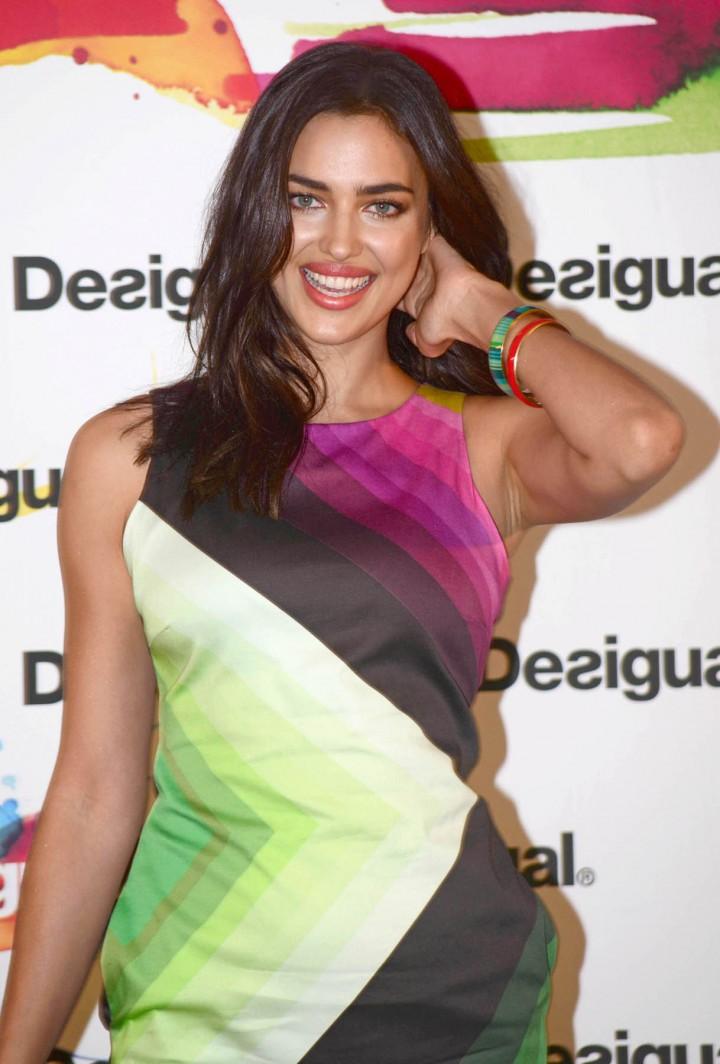Irina Shayk: Desigual 2014 Collection Launch -08