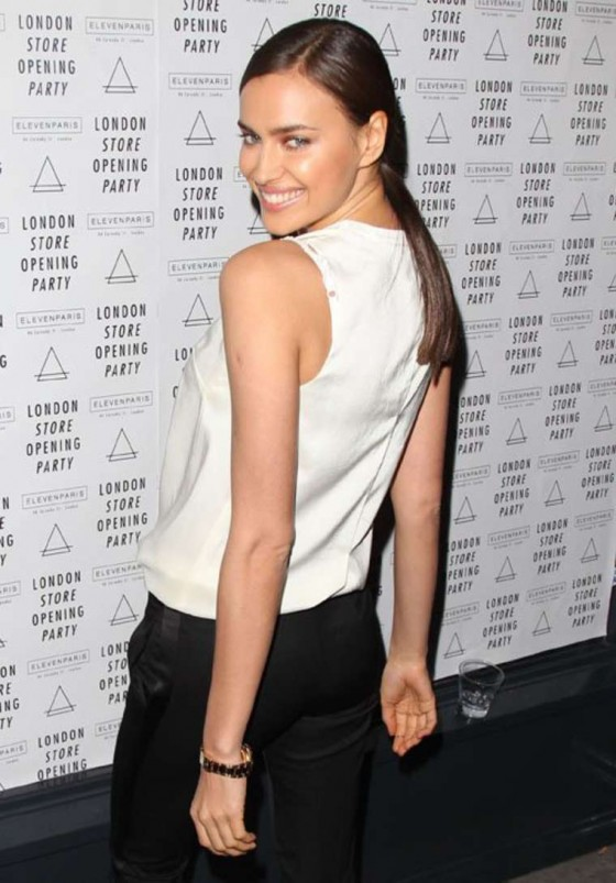 Irina Shayk - Eleven Paris store opening party -01