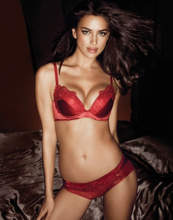 Irina Shayk hot in lingerie-12