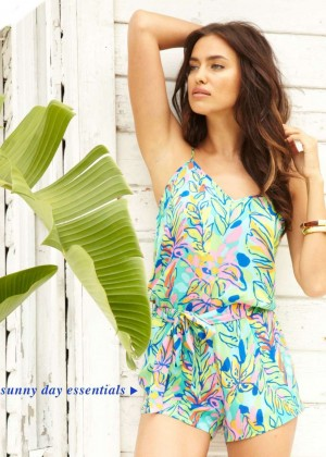 Irina Shayk - Lilly Pulitzer Resort Collection Fall 2014