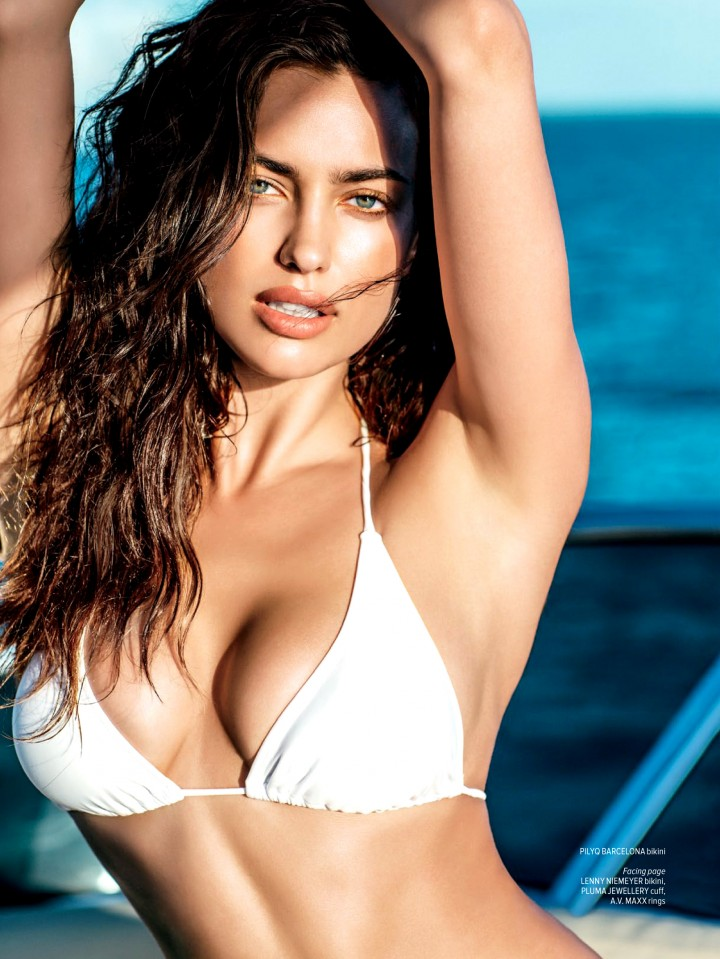 Irina Shayk - Maxim Magazine (July/August 2014)