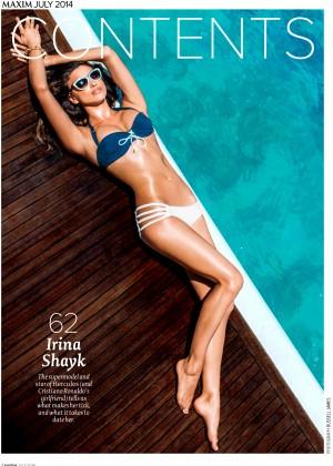Irina Shayk: Maxim 2014 -14