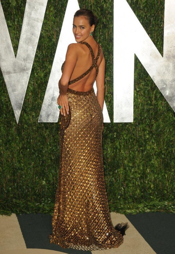 Irina Shayk show some skin at Oscar 2012 Vanity Fair Party-02