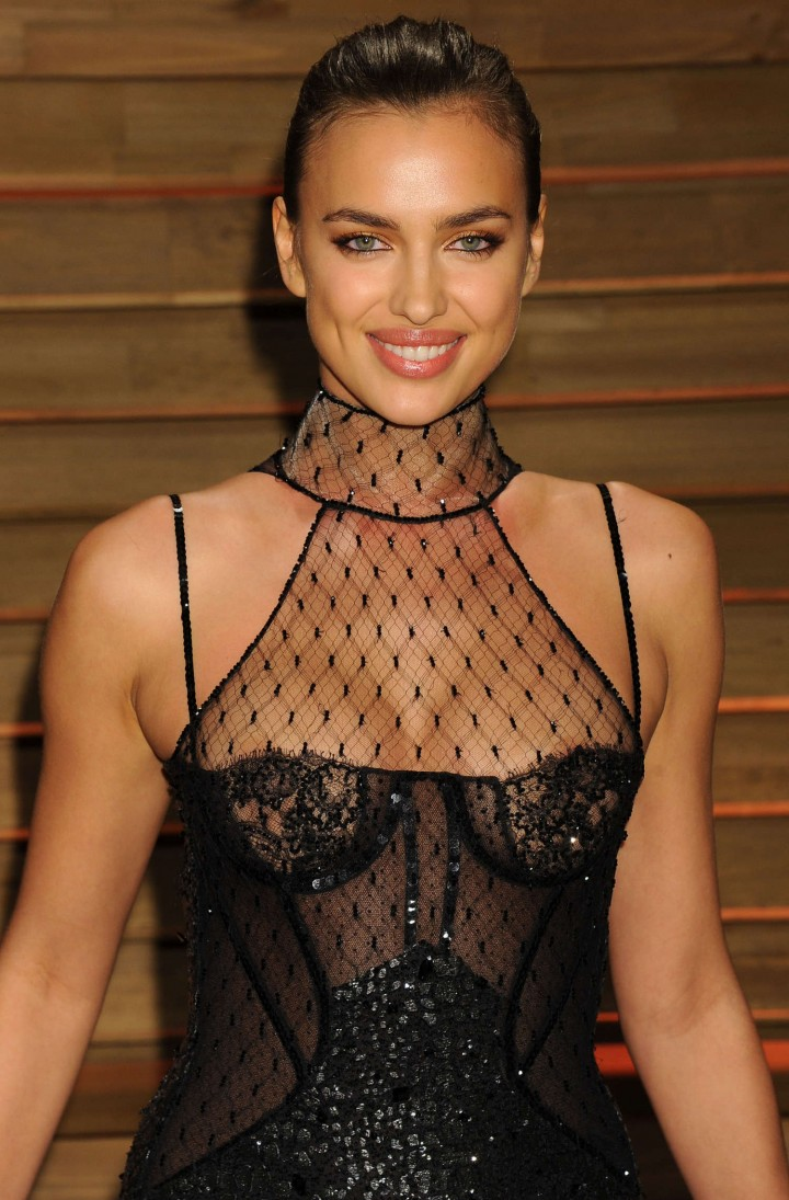 Irina Shayk – Oscars 2014 – Vanity Fair Party in West Hollywood