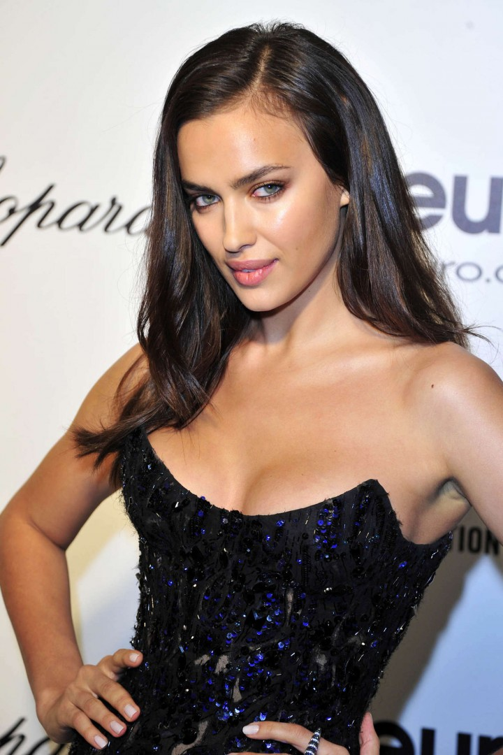 Irina Shayk: 2014 Elton John AIDS Foundation Academy Awards Party -01