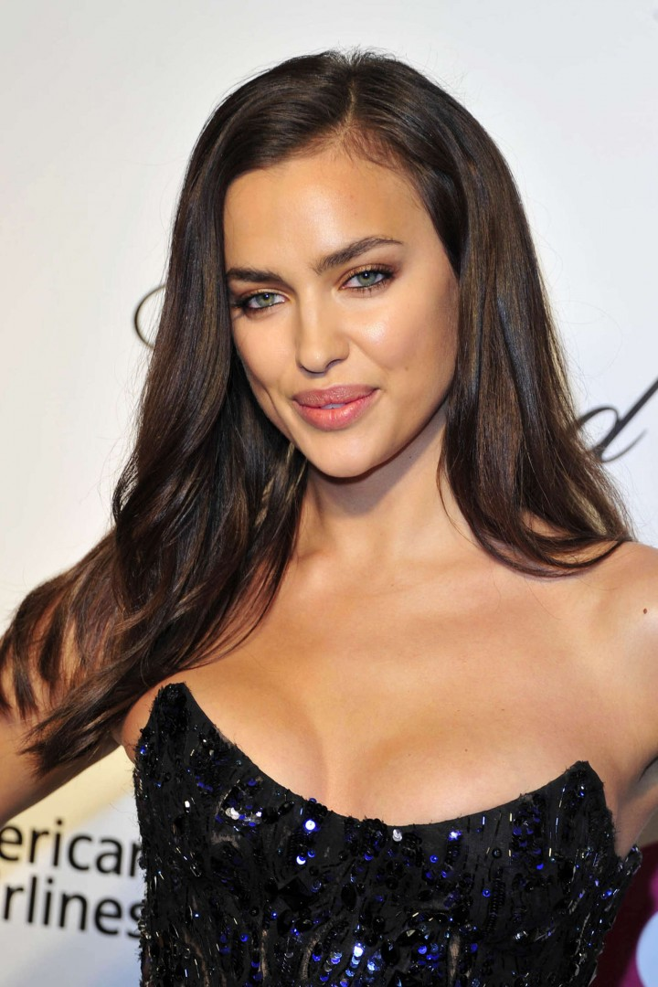 Irina Shayk: 2014 Elton John AIDS Foundation Academy Awards Party -05