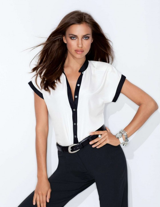 Irina Shayk - Photoshoot For MADELEINE Spring-Summer Collection 2013