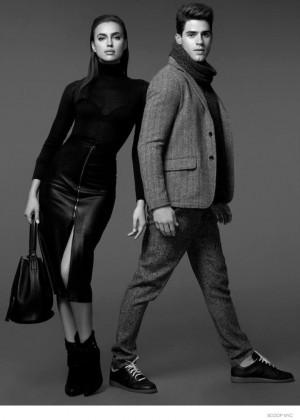 Irina Shayk: Scoop Lookbook 2014 -02
