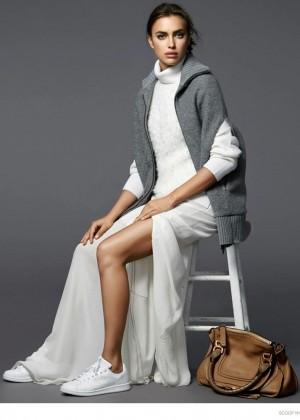 Irina Shayk: Scoop Lookbook 2014 -03
