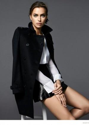 Irina Shayk - Scoop NYC Lookbook Fall/Winter 2014
