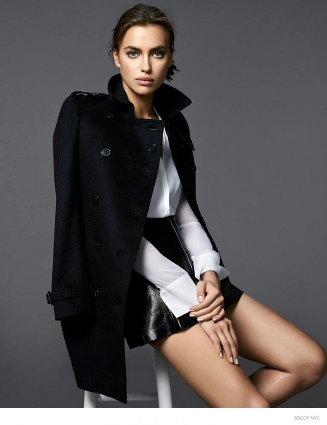 Irina Shayk - Scoop NYC Lookbook Fall/Winter 2014