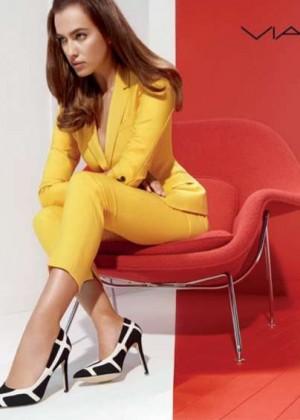 Irina Shayk - Via Spiga 2014 Fall Campaign