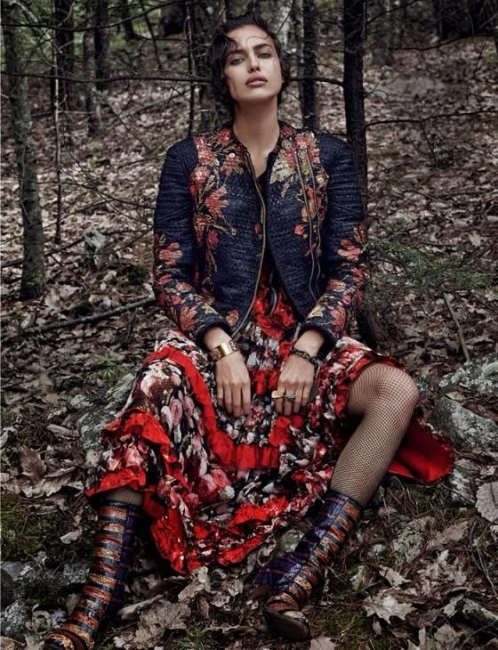 Irina Shayk – Vogue Spain Magazine (December 2013)