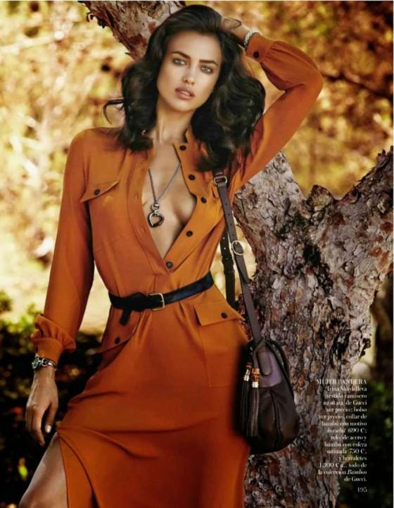 Irina Shayk: Vogue Spain -02