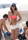 IRINA SHAYK in bikini in Miami-06