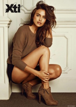 Irina Shayk - XTI Shoes Collection Fall 2014