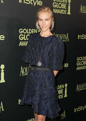 Isabel Lucas - HFPA & InStyle Celebrate 2015 Golden Globe Award Season in West Hollywood