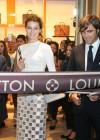 Isabeli Fontana at Louis Vuitton Boutique Opening -03