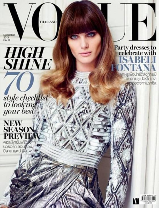 Isabeli Fontana: Vogue Thailand -06