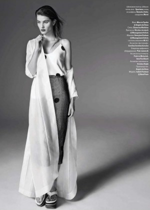 Isabeli Fontana: Vogue Ukraine -10