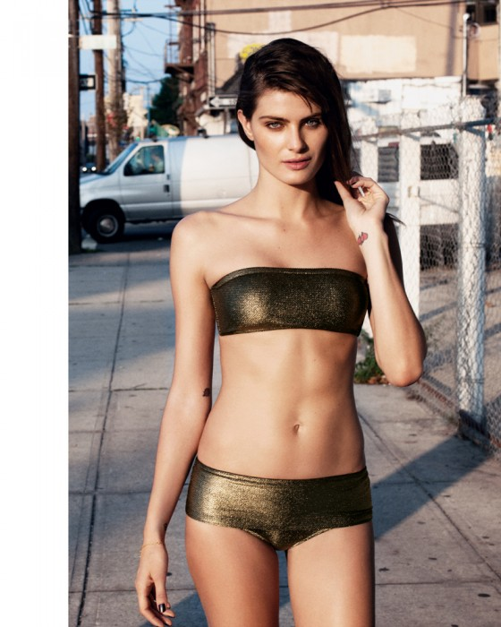 Isabeli Fontana - Women's Resort Swim Collections 2012 - Bergdorf Goodman Magazine