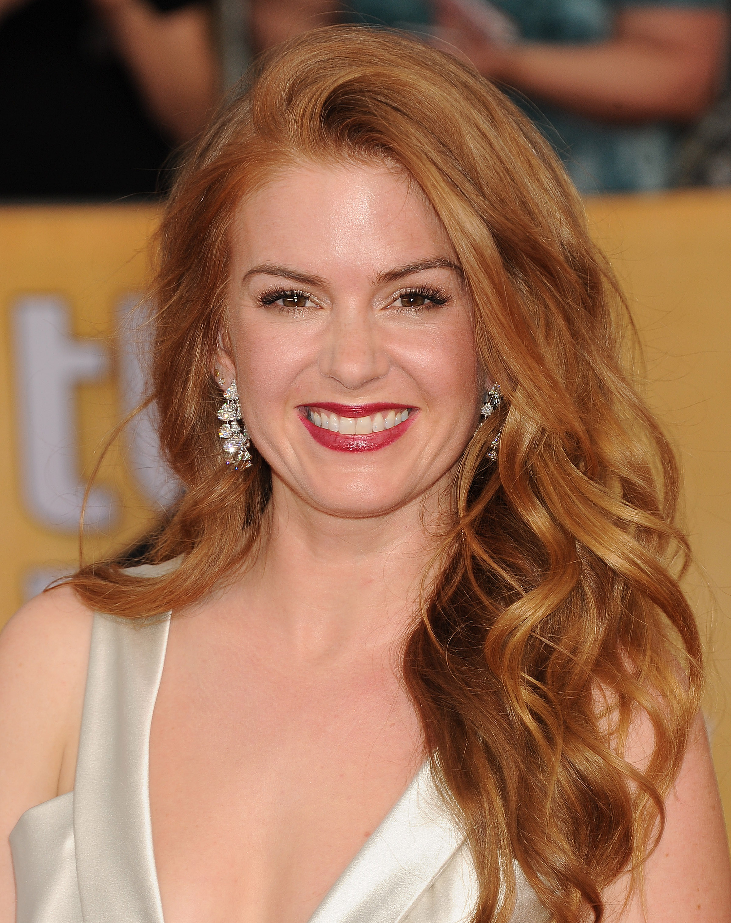 Isla Fisher: 2014 SAG Awards -07 - GotCeleb
