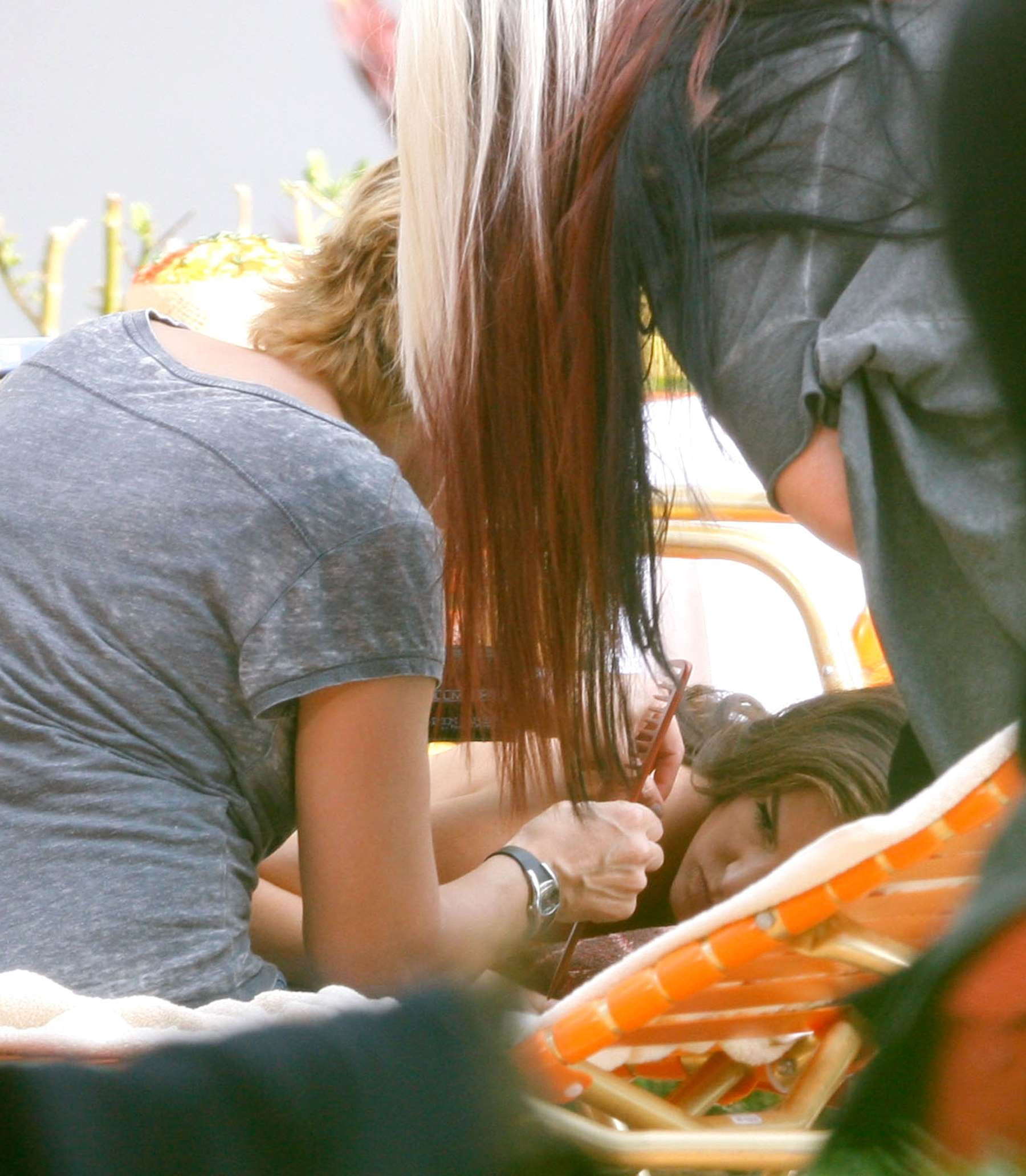 Isla Fisher On Film Set -01 - GotCeleb