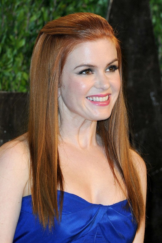 Isla Fisher – Oscar 2013 – Vanity Fair Party -01