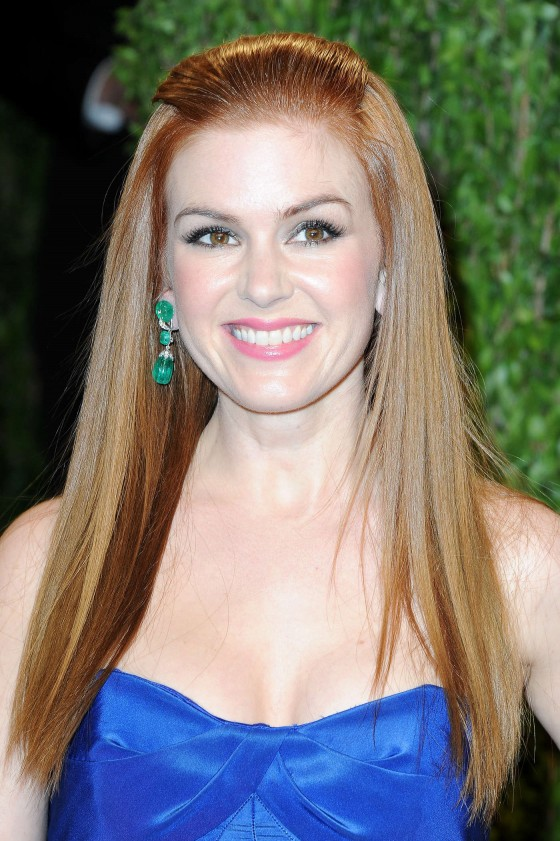 Isla Fisher - Oscar 2013 - Vanity Fair Party -04