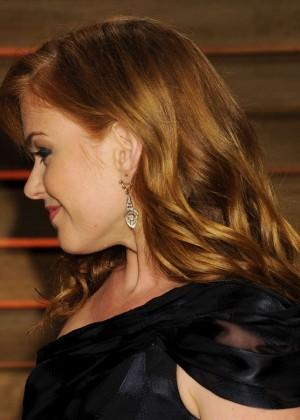 Isla Fisher: Oscar 2014 - Vanity Fair Party -02