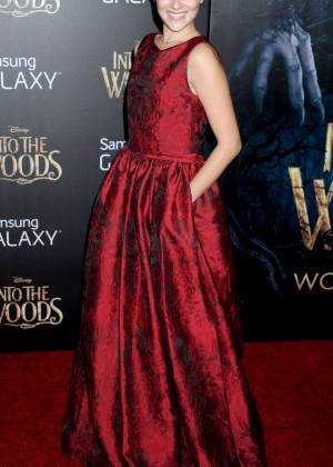 Italia Ricci: Into the Woods NY Premiere -03