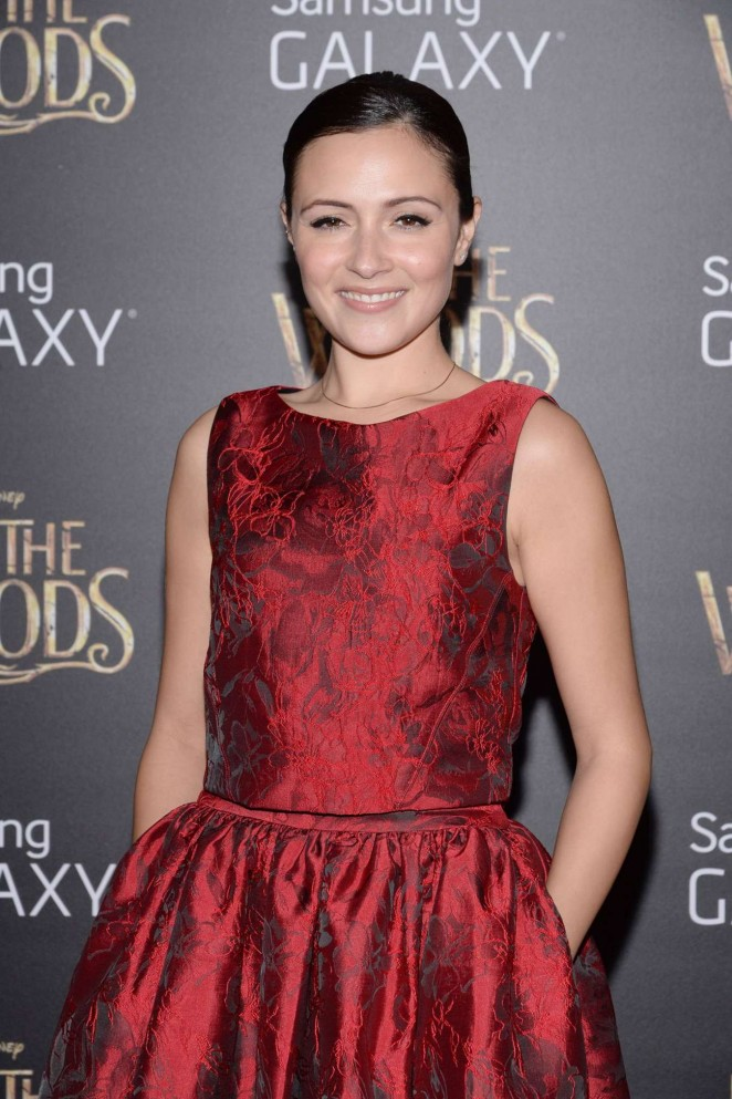 "Italia Ricci - ""Into the Woods"" Premiere in New Yortk"