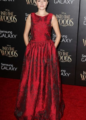 Italia Ricci: Into the Woods NY Premiere -05