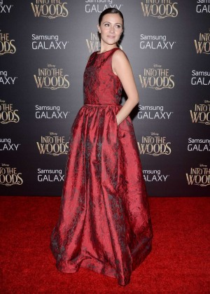 Italia Ricci: Into the Woods NY Premiere -06