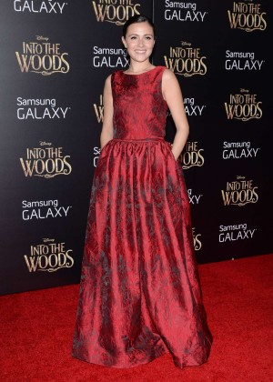 Italia Ricci: Into the Woods NY Premiere -07